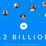 Facebook Messenger alcanzó los 1,2 billones de usuarios